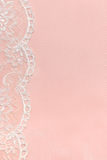 Pink Delicate satin background Royalty Free Stock Image