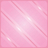 Pink diagonal stripes pattern. And polka dots in frame. Holiday background. Digital illustration Vector. For Art, Print, web, Fashion, textile, craft graphic royalty free illustration
