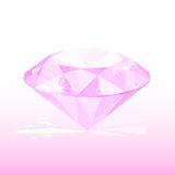 Pink diamond Stock Photos