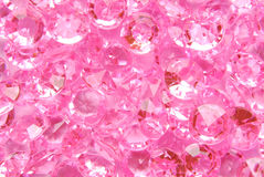 Pink diamond background Stock Image