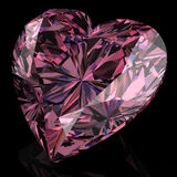 Pink diamond Stock Photo