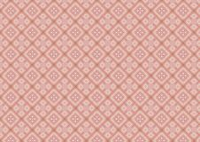Pink Diamond Shaped Pattern. Must be viewed up close to appreciate the incredible details in this soft pink diamond shapes quilt pattern created from real fabric Royalty Free Stock Photography
