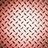 Pink diamond steel plate Royalty Free Stock Photo