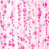 Pink diamonds. (delicate seamless pattern Stock Image