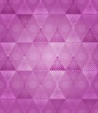 Pink Diamonds Pattern Fantasy Royalty Free Stock Photography