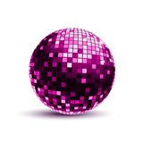 Pink Disco Ball Royalty Free Stock Photos