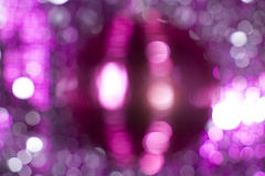 Pink discoball Stock Images