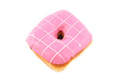 Pink donut Royalty Free Stock Photography