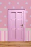 Pink door Royalty Free Stock Photo