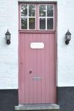 Pink door Stock Images