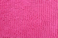 Pink doormat for background texture Royalty Free Stock Image