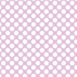 Pink dots. Illustration of seamless pink polka dots pattern Royalty Free Stock Photography