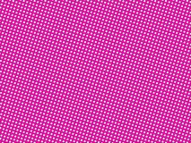 Pink dotted background Stock Images