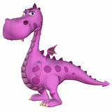 Pink Dragon Cartoon Stock Photos