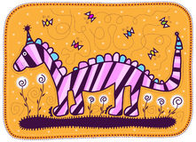 Pink dragon Royalty Free Stock Photography