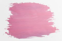 Pink draw texture Royalty Free Stock Image