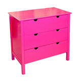 Pink drawer Stock Photography