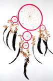 Pink dreamcatcher Royalty Free Stock Image
