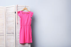 Pink Dress Stock Photo