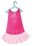 Pink dress Stock Image