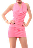 Pink dress Royalty Free Stock Images