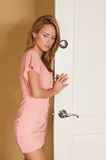Pink dress Royalty Free Stock Photo