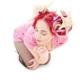 Pink dress Royalty Free Stock Photos