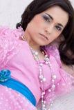 Pink Dress Woman Royalty Free Stock Photo