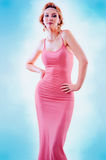 Pink Dress Royalty Free Stock Photos