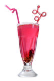 Pink drink Stock Images