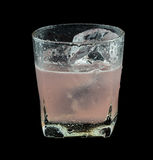 Pink Drink Absolut Tornado Stock Photography