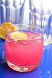 Pink drink - studio shot Stock Photo