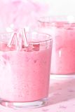 Pink Drinks Royalty Free Stock Photography
