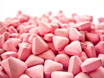 Pink druges Stock Images