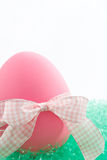 Pink Easter Egg Stock Photography