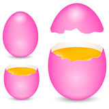 Pink egg Royalty Free Stock Images