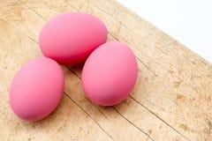 Pink egg Royalty Free Stock Image