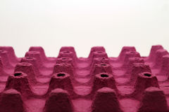 Pink eggcup Stock Image
