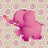 Pink elephant Royalty Free Stock Photo