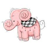 Pink Elephant Royalty Free Stock Photos