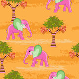 Pink elephant Stock Photography