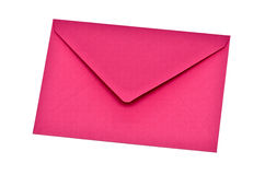 Pink envelope Stock Photography
