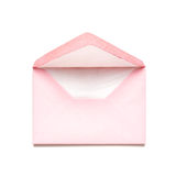 Pink envelope Stock Photo