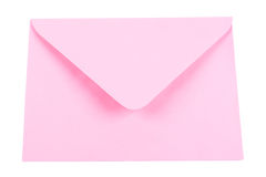 Pink envelope Royalty Free Stock Photos
