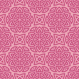 Pink ethnic pattern Stock Photography