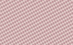Pink ethno pattern Royalty Free Stock Image