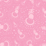 Pink etnic pattern Stock Photos