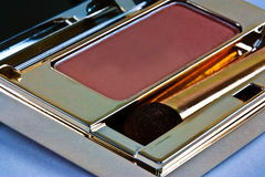 Pink eye shadow compact Stock Photos