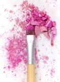 Pink eye shadows Royalty Free Stock Photo
