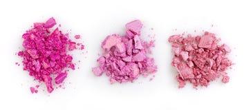Pink eye shadows Royalty Free Stock Image